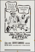 "Movie Posters:Black Films, The Man from C.O.T.T.O.N. (Futurama, R-1966). One Sheet (27"" X41""). Comedy. Re-release of Gone are the Days (Hammer Fil..."