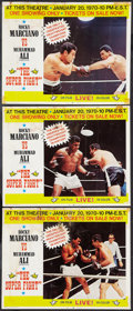 """Movie Posters:Sports, The Super Fight: Ali vs. Marciano (Woroner, 1969). Lobby Cards (3) (11"""" X 14""""). Sports.. ... (Total: 3 Items)"""
