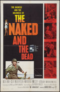 """Movie Posters:War, The Naked and The Dead (Warner Brothers, 1958). One Sheet (27"""" X41""""). War.. ..."""
