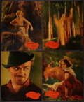"Movie Posters:Fantasy, A Midsummer Night's Dream (Warner Brothers, 1935). Jumbo LobbyCards (8) (14"" X 17""). Fantasy.. ... (Total: 8 Items)"
