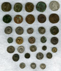 Ancients:Ancient Lots  , Ancients: LARGE LOT. Group of 58 miscellaneous Greek, Roman,Judaean and Parthian coins. ... (Total: 58 coins)