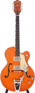 Musical Instruments:Electric Guitars, 2000s Gretsch Model G6120SSLVO Brian Setzer Semi-Hollow ElectricGuitar, Serial # JT05063640....