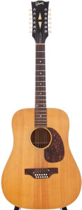 Musical Instruments:Acoustic Guitars, Early 1970s Gibson B-45-12 Natural 12-String Acoustic Guitar,Serial # 967075....