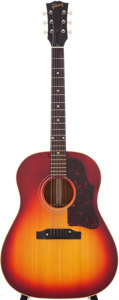Musical Instruments:Acoustic Guitars, 1963 Gibson J-45 Sunburst Acoustic Guitar, Serial # 114378....