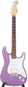 Musical Instruments:Electric Guitars, 1999 Jeff Beck Signature Stratocaster Purple Electric Guitar,Serial # SN9960808....