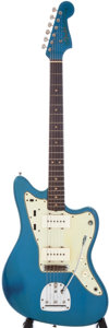 Musical Instruments:Electric Guitars, 1964 Fender Jazzmaster Lake Placid Blue Electric Guitar, Serial #L21641. ...