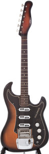 Musical Instruments:Electric Guitars, Late 1960s Baldwin/Burns Split Sound Jazz Sunburst Electric Guitar, Serial # 13798....