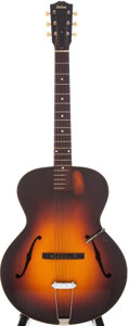 Musical Instruments:Acoustic Guitars, Mid 1930s Gibson L-50 Sunburst Archtop Acoustic Guitar, Serial #809D....