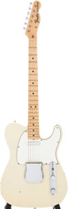 Musical Instruments:Electric Guitars, 1969 Fender Telecaster Blonde Solid Body Electric Guitar, Serial #255937....