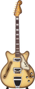 Musical Instruments:Electric Guitars, 1968 Fender Coronado II Antigua Semi-Hollow Electric Guitar, Serial# 220203....