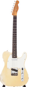 Musical Instruments:Electric Guitars, 1960s Fender Telecaster Cream Electric Guitar, Serial # 49982....