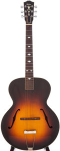 Musical Instruments:Acoustic Guitars, 1939 Gibson L-4 Sunburst Archtop Acoustic Guitar, Serial #EA-5537....