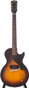 Musical Instruments:Electric Guitars, 1955 Gibson Les Paul Junior Sunburst Electric Guitar, Serial #511466....