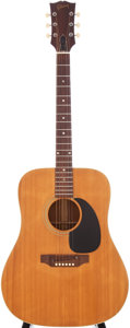 Musical Instruments:Acoustic Guitars, 1969 Gibson J-50 Natural Acoustic Guitar, Serial # 838899....