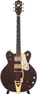 Musical Instruments:Electric Guitars, Circa 1970 Gretsch Country Gentleman Walnut Semi-Hollow ElectricGuitar, Serial # 2083....