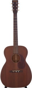 Musical Instruments:Acoustic Guitars, 1949 Martin 00-17 Natural Acoustic Guitar, Serial # 110470....
