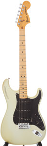 Musical Instruments:Electric Guitars, 1979 Fender Stratocaster Silver Solid Body Electric Guitar, Serial# 259604....