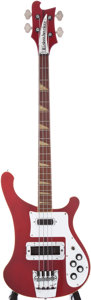 Musical Instruments:Bass Guitars, 1976 Rickenbacker 4001 Burgundyglo Electric Bass Guitar, Serial #PA216....