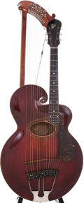 Musical Instruments:Acoustic Guitars, 1920 Gibson Harp Sunburst Acoustic Guitar, Serial # 55510. ...