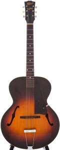 Musical Instruments:Acoustic Guitars, 1946 Gibson Banner Model L-48 Sunburst Acoustic Archtop Guitar....