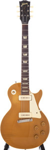 Musical Instruments:Electric Guitars, 1954 Gibson Les Paul Standard Gold Top Electric Guitar, Serial # 42280. ...