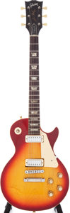 Musical Instruments:Electric Guitars, 1975 Gibson Les Paul Deluxe Cherry Sunburst Electric Guitar, Serial# 401483....