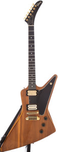 Musical Instruments:Electric Guitars, 1979 Gibson Explorer E/2 Natural Electric Guitar, Serial #72639037....