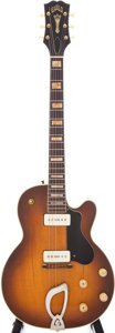Musical Instruments:Electric Guitars, 1957 Guild Bluesbird/Aristocrat/M-75 Sunburst Semi-Hollow Electric Guitar, Serial # 5178....