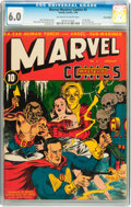 Marvel Mystery Comics #3 Billy Wright pedigree (Timely, 1940) CGC FN 6.0 Off-white to white pages