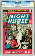 Bronze Age (1970-1979):Romance, Night Nurse #1 (Marvel, 1972) CGC NM/MT 9.8 White pages....