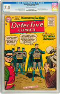 Golden Age (1938-1955):Superhero, Detective Comics #225 (DC, 1955) CGC FN/VF 7.0 Cream to off-white pages....