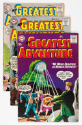 Silver Age (1956-1969):Adventure, My Greatest Adventure Group (DC, 1959-62) Condition: Average FN+.... (Total: 16 Comic Books)