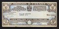 Miscellaneous:Other, Dominion of Canada $5 War Savings Certificate 15.8.1941 Dunn 951a....