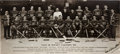 Hockey Collectibles:Photos, 1936-37 Montreal Canadiens Original Mini Photograph Signed Twice byCecil Hart....