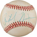 Autographs:Baseballs, Circa 1985 Richard Nixon Single Signed Baseball. ...