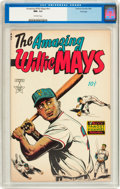 Golden Age (1938-1955):Non-Fiction, The Amazing Willie Mays #nn File Copy (Famous Funnies, 1954) CGCNM- 9.2 Off-white pages....