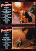 """Movie Posters:Science Fiction, Invaders from Mars (Cannon, 1986). Italian Photobusta Set of 4 (18.75"""" X 26.5""""). Science Fiction.. ... (Total: 4 Items)"""