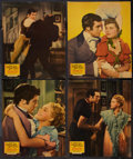 "Movie Posters:Comedy, Little Old New York (20th Century Fox, 1940). Jumbo Lobby Card Setof 8 (14"" X 17""). Comedy.. ... (Total: 8 Items)"