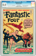 Silver Age (1956-1969):Superhero, Fantastic Four #4 (Marvel, 1962) CGC VF 8.0 Off-white pages....