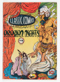 Golden Age (1938-1955):Classics Illustrated, Classic Comics #8 Arabian Nights - First Edition (Gilberton, 1943) Condition: VG....