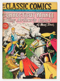 Golden Age (1938-1955):Classics Illustrated, Classic Comics #24 A Connecticut Yankee in King Arthur's Court -First Edition (Gilberton, 1945) Condition: FN-....