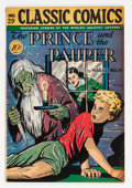 Golden Age (1938-1955):Classics Illustrated, Classic Comics #29 The Prince and the Pauper - First Edition(Gilberton, 1946) Condition: FN-....