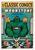 Golden Age (1938-1955):Classics Illustrated, Classic Comics #30 Moonstone - First Edition (Gilberton, 1946)Condition: VG....