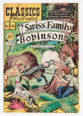 Golden Age (1938-1955):Classics Illustrated, Classics Illustrated #42 Swiss Family Robinson - First Edition(Gilberton, 1947) Condition: FN/VF....