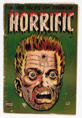 Golden Age (1938-1955):Horror, Horrific #3 (Comic Media, 1953) Condition: GD/VG....