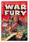 Golden Age (1938-1955):War, War Fury #1 (Comic Media, 1952) Condition: VG+....