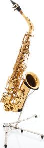 Musical Instruments:Horns & Wind Instruments, 1970 Selmer Mark VI Brass Alto Saxophone, Serial # 180003. ...