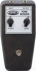 Musical Instruments:Miscellaneous, 1960s VOX Tone Bender Effects Pedal, Serial # 1567300....