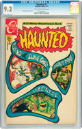 Bronze Age (1970-1979):Horror, Haunted #1 (Charlton, 1971) CGC NM- 9.2 Off-white to whitepages....