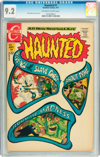 Haunted #1 (Charlton, 1971) CGC NM- 9.2 Off-white to white pages